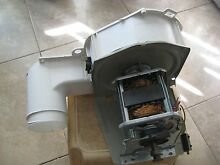 GE ELECTRIC DRYER COMBO Motor   WE17M0022  BRACKET  HOUSING  BLOWER  THERMOSTAT