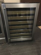 GE Monogram 57 Bottle Capacity Under The Counter Wine Cooler ZDWR240HBS