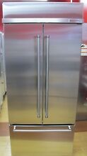 KitchenAid 36  Stainless Steel Built In French Door Refrigerator KBFN506ESS