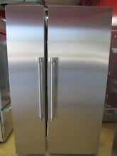 Thermador Freedom Collection 48  Side by Side Refrigerator Freezer Columns