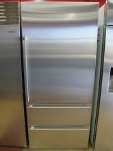 Sub Zero IT36CIRH 36 Inch Built In Bottom Freezer Refrigerator Stainless Steel