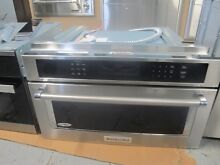 KitchenAid 30  Stainless Steel Built In Convection Microwave Oven   KMBP100ESS