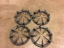 GE Gas Range Top Burner Grates