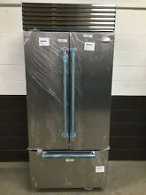 Sub Zero 36  BI 36UFDID S PH Refrigerator Freezer French Door Side Stainless