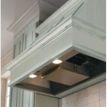 Vent A Hood 34 38W in  K Series Wall Mounted Liner Insert  Black