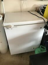 GE 5 0 Cu Ft Electric Chest Freezer White Model FCM5SKWW Apartment Size