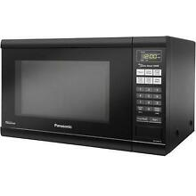 Panasonic Countertop Microwave Oven w Inverter Technology  1 2 CuFt 1200W  Black