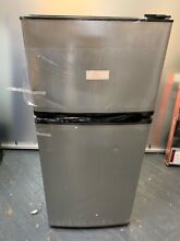Insignia NS CF43SS9 Top Freezer Refrigerator   Stainless Steel Local Pickup