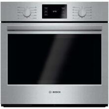Bosch HBL5451UC 500 30  Stainless Steel Electric Single Wall Oven