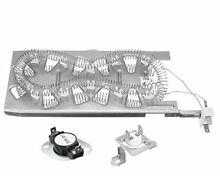 Siwdoy 3387747 Dryer Heating Element and 279973 Thermal Cut Off Fuse