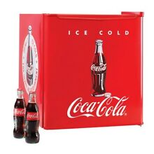Coca Cola 1 7 Cu Ft Refrigerator with Freezer Compartment Red