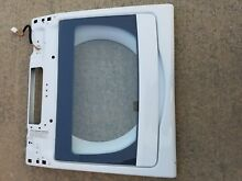 Whirlpool Cabrio Washer Glass Lid Assembly w10319871A