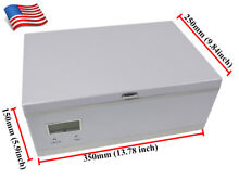 Cosmetic Refrigerator Mini Cosmetic Cooler Box Freezer 8 18  110V USA Stock