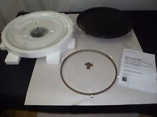 Kenmore Elite Microwave 12 3 8 Glass Tray  Grill Pan  Turntable Shaft