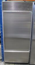 Sub Zero 600 Series 30 Inch Built In Bottom Freezer Refrigerator   650 F