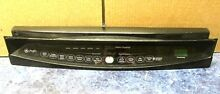 GE Profile BLACK Dishwasher MAIN Control Touch Panel Interface Button WD34X11152