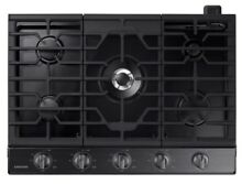 Samsung  NA30K6550TG 30  Stainless 5 Burner Gas Grate Cooktop with Griddle