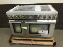 Thermador PRD486JDGU 48  Dual Fuel Range Pro Grand 6 Burners Stainless