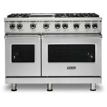 Viking Professional 5 Series 48  Gas Range VGR5486GSS 6 Burner with Griddle