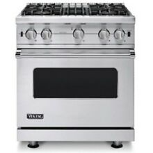 Viking 5 Series 30  Gas Open Burner Range VGIC53014BSS