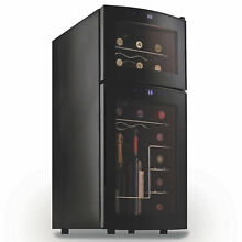 Wine Enthusiast Silent 21 Bottle Wine Refrigerator   TOUCH SCREEN BLACK