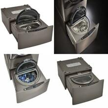 Kenmore Elite 51973 27  Wide Pedestal Washer in Metallic silver  includes