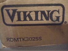 Viking RDMTK302SS 30  Stainless Steel Microwave Built in Trim Kit