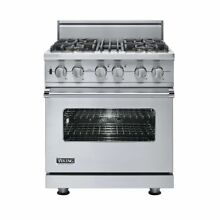 Viking Professional VDSC5304BSS 30 Inch Pro Style Dual Fuel Range Stainless