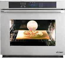 Dacor Renaissance RNWO127PS 27 In Single Electric Wall Oven ThinLine Door Stainl