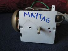 Genuine MAYTAG Electric Dryer Timer Part   3702290   33001932 OEM w Power Cord