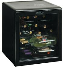 Wine Chiller INI Fridge Cooler Bar Counter Compact Refrigerator Beer 17 Bottles