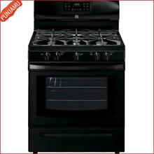 Kenmore 5 0 cu  ft Self Clean Gas Range Includes Delivery Hookup Stainless Steel