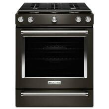 KitchenAid 30  Black  Slide In Gas Range   KSGG700EBL Gas