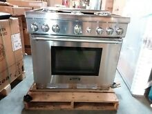 Thermador 36  SS Pro Harmony Gas Range PRG366GH