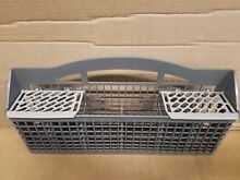 CLEAN Whirlpool MAYTAG Dishwasher W10438331 Silverware Cultery Basket GREY
