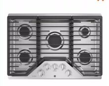 GE Profile PGP7030SLSS  30 Inch Natural Gas Burner Style Cooktop With 5 Burners