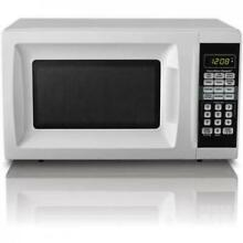 Countertop Microwave Oven Small Compact Mini Home Kitchen Dorm Space Apartment