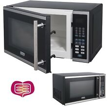 Digital Microwave Oven Home Cooking Stainless Steel 0 7 Cu Ft Capacity 700 Watts