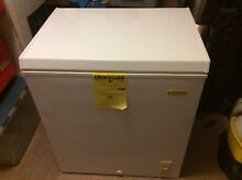 HOLIDAY 5 CU FT CHEST FREEZER W BASKET LCM050LC NEW LOCAL PICK UP Only