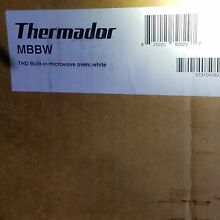 Thermador Microwave Trim Kit MBBW Built in kit White