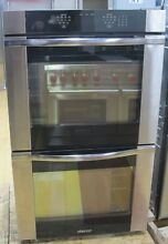 Dacor Renaissance  ROV230B 30 Inch Double Electric Wall Oven Black Glass