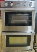 DCS  WODU30  Width 30 Inch Double Electric Wall Oven Stainless Steel