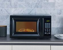 Dorm Microwave Small RV 0 7 Cubic Feet Countertop 700W Low Profile Kitchen Home
