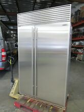 SUB ZERO 48  MODEL 632 PERFECT STAINLESS STEEL BUILT IN REFRIGERATOR 42 off List