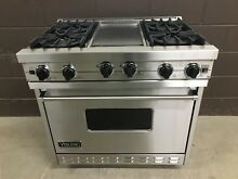 VIKING VGIC365 4GSS 36  Professional Gas Range Oven 4 Burner   Griddle