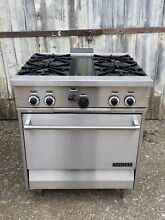 NOS GARLAND Stainless Steel Household Natural Gas Electric Stove Range 4 Burner
