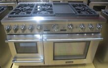 Thermador Pro Grand Steam PRD48JDSGU 48 In  Dual Fuel Range 5 1 Convection Oven