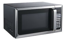 Premium Hamilton Beach 0 9 cu ft  Microwave Oven  Stainless Steel