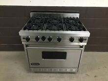 VIKING VGIC365 6BDSS 36  Professional Gas Range Oven 6 Burner Stainless Steel