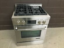 Jenn Air JGRP430WP 30  PRO Gas Range Stove 4 Burners Stainless